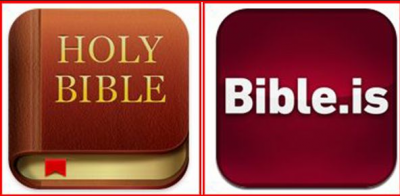 Get their Bible.is app for your smartphone. You can access over Bible translations in over 700 languages for use with your international friends.