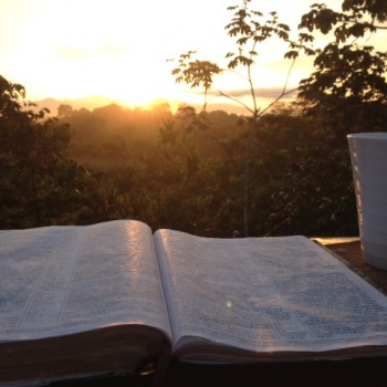 Bible and CR Sunrise