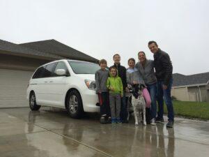 We finally traded in the faithful minivan